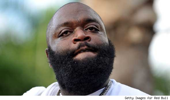 rick ross beard. rapper Rick Ross (Bawse!