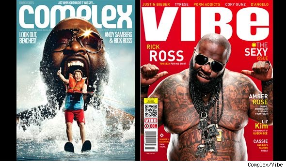 rick ross vibe magazine cover. Rick Ross has got jokes and