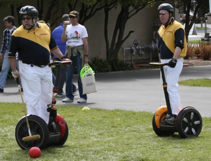 Grip It and Rip It: The Wild World of Segway Polo