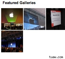 TUAW GALLERIES