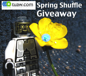 tuaw spring shuffle giveaway