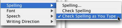 Ursa spell checker