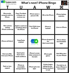 iphone bingo at tuaw