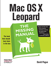 Mac OS X : The Missing Manual