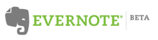 Evernote Beta logo