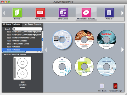 Avery Design Pro for Mac