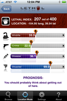 lethaltitle iPhone Gets a Location Based Alarming and Warning App…