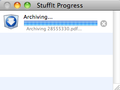 StuffIt Progress