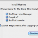 Install Options