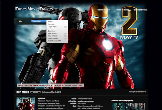 Apple Movie Trailers website getting an iTunes Store-style ...