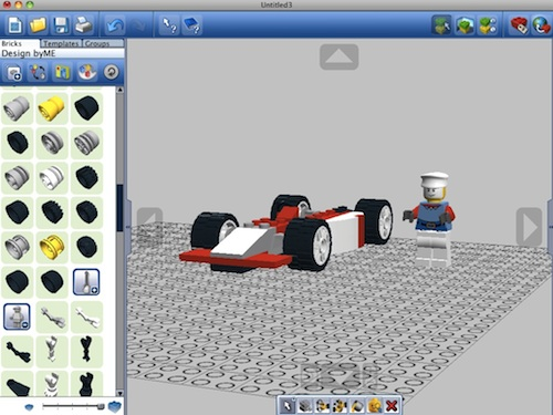 Build customized lego packs with lego digital designer for Lego digital designer templates