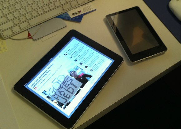 New iPad Clones with Android 2.2 / Windows 7