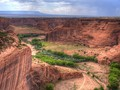 Canyon de Chelly view.