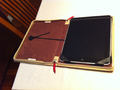 The iPad -- in the BookBook case