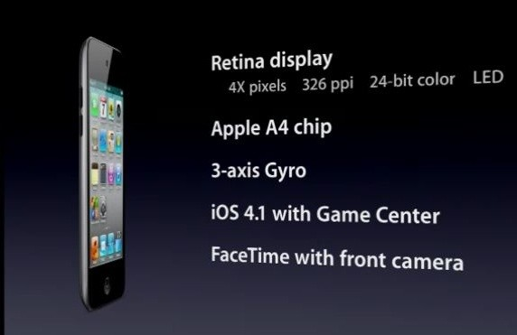 ipod touch 4th gen specs. generation of iPod touch