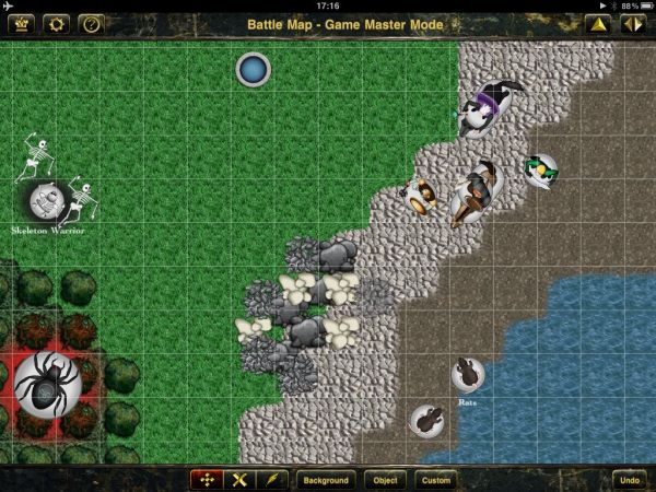 battle map app screen shot