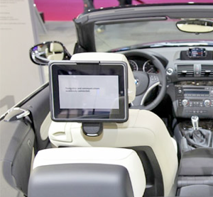 bmw ipad