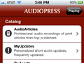 The sources for AudioPress