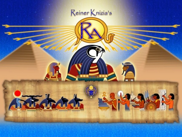 Reiner Knizia's Ra for ipad