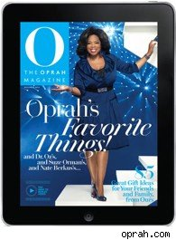 Oprah Favorite Things iPad