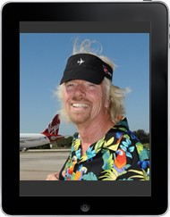Richard Branson iPad
