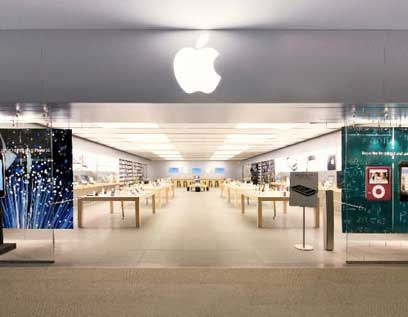 Legendary first Apple retail store