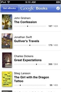 google books app rushed tuaw hands on