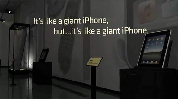 iPad is a giant iPhone