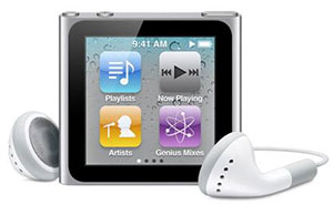 iPod nano sixth gen