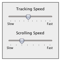 Mouse and Trackpad Speed