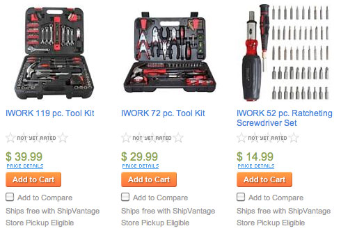 Sears on Sears Selling A Series Of  Iwork  Toolkits And Tool Sets   Tuaw   The