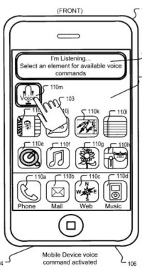 Voice Command Patent Application