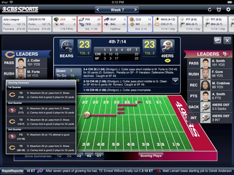 CBS Sports iPad