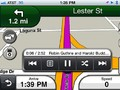 Driving with iPod controls
