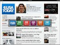 USA Today with floating navigation