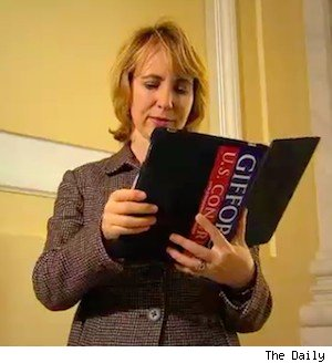 US Rep. Gabrielle Giffords loves her iPad