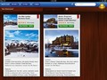 Side by side bookmarked hotels