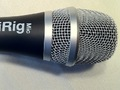 The business end of the iRig Mic