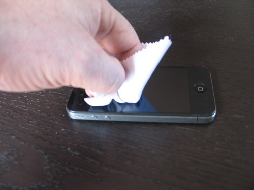 Clean that nasty iPhone