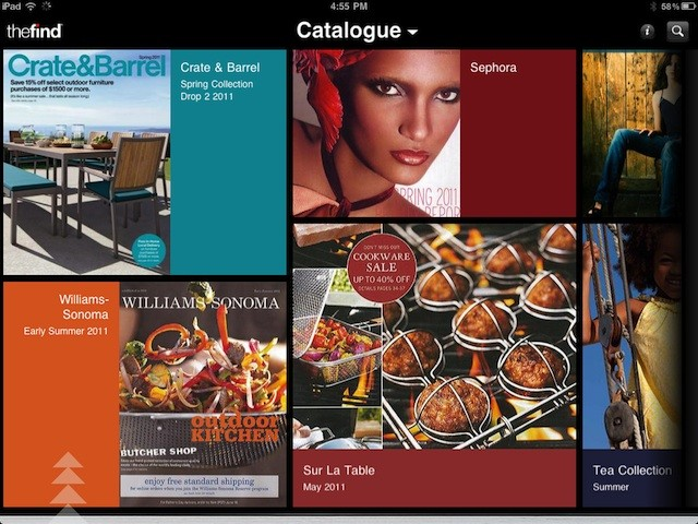 Here's what a typical page of Catalogue looks like