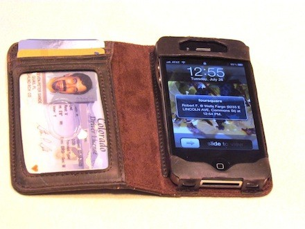 TwelveSouth BookBook for iPhone: Wallet and case in one little leather-bound book