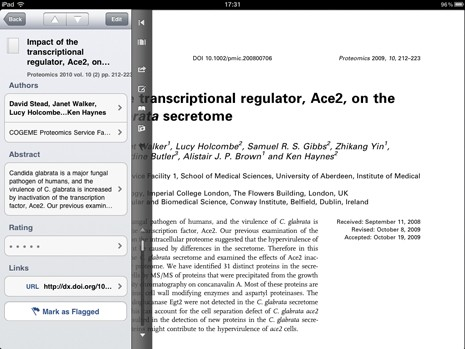 Papers for iPad