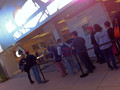 A casual line at at the La Cantera Apple Store in San Antonio, TX.