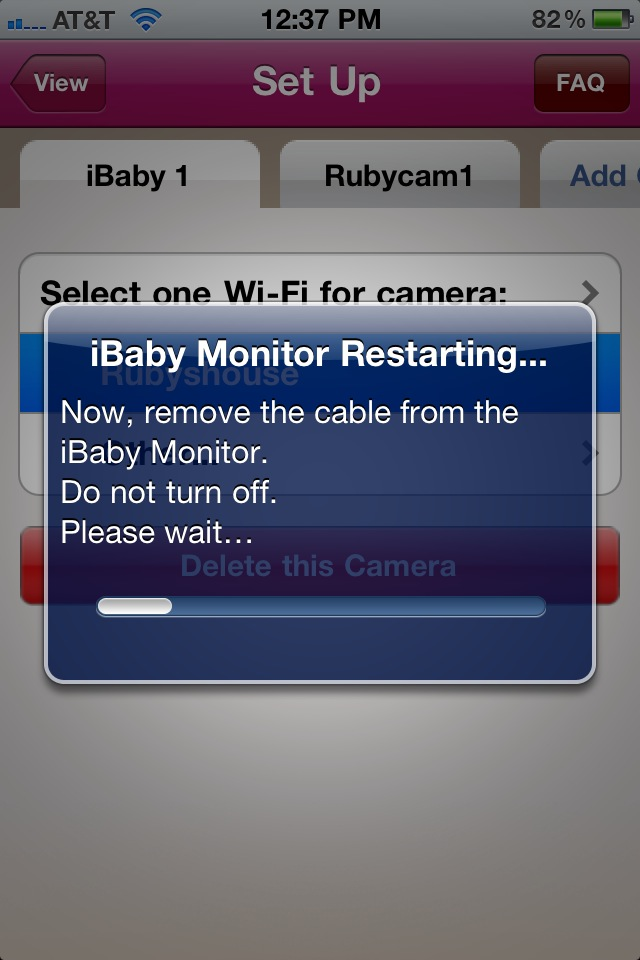 ibaby monitor keeping an ios eye on your little one. Black Bedroom Furniture Sets. Home Design Ideas