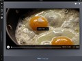 Video showing you how to fry eggs