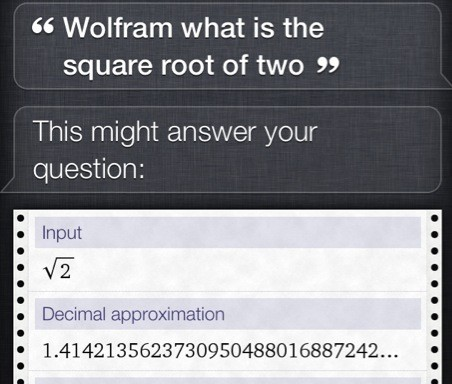 10 cool things you can do with Wolfram Alpha and Siri