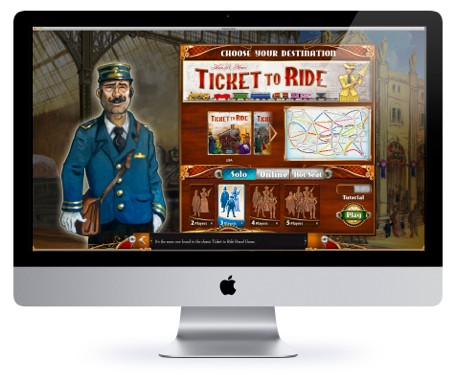 Ticket to Ride is now on the Mac