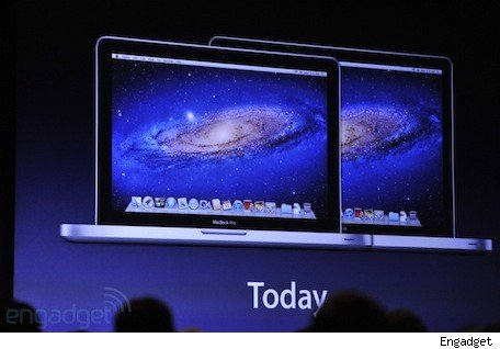 New MacBook Pros announced with Ivy Bridge processors, up to 27GHz quadcore i7s