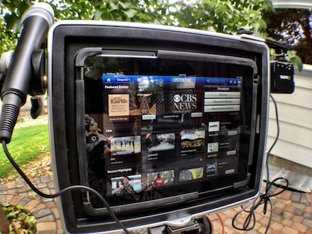 Padcaster and Lenscaster simplify iPad video production workflow