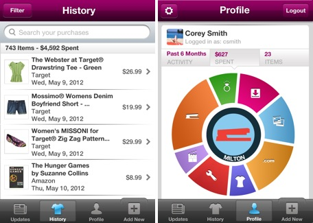 Daily iPhone App Slice helps you track your online purchases